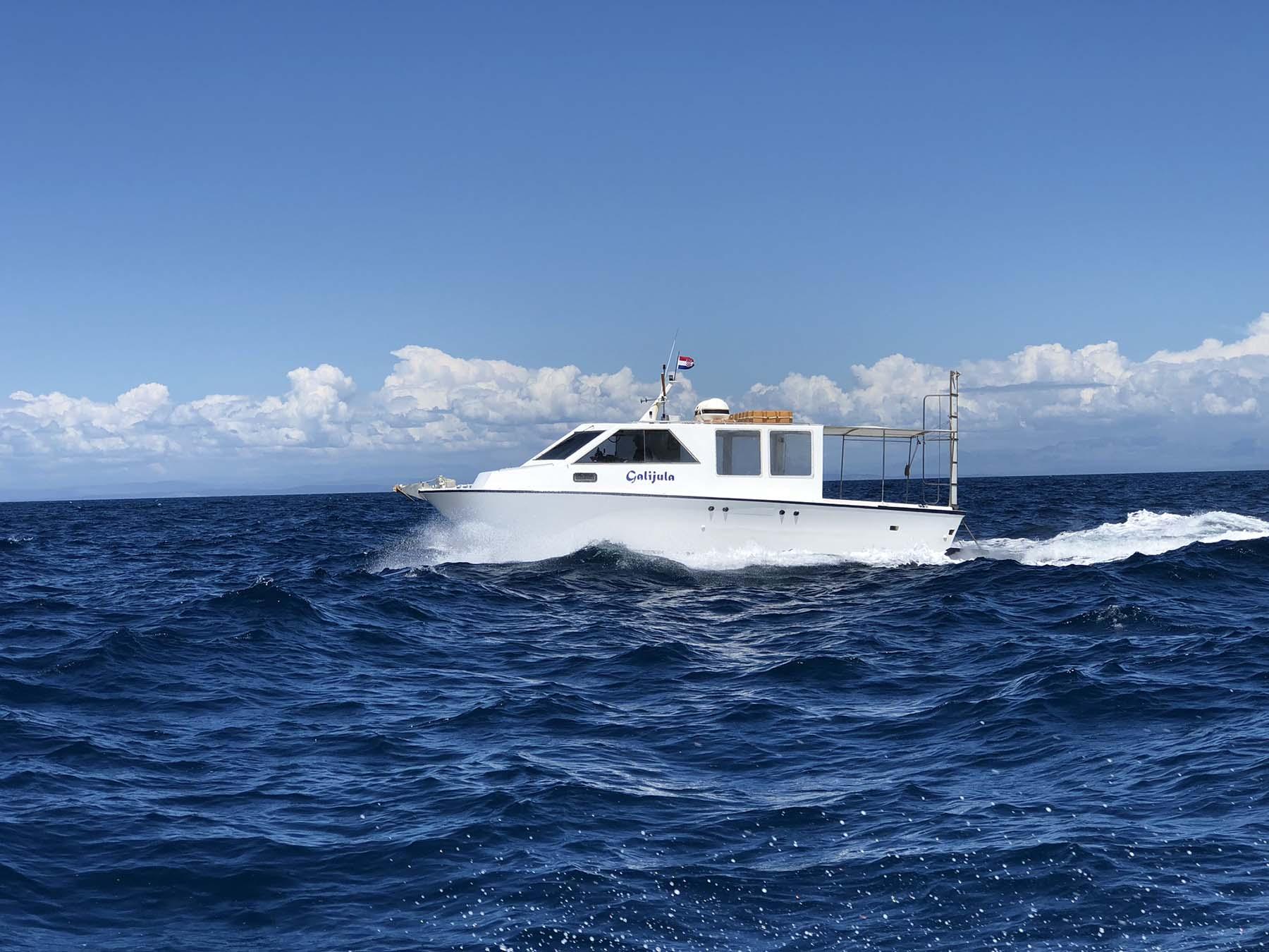 Galijula boat