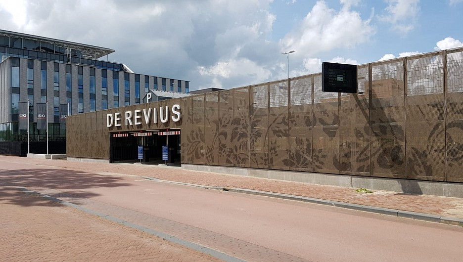 Parkeergarage De Revius Leeuwarden opgeleverd