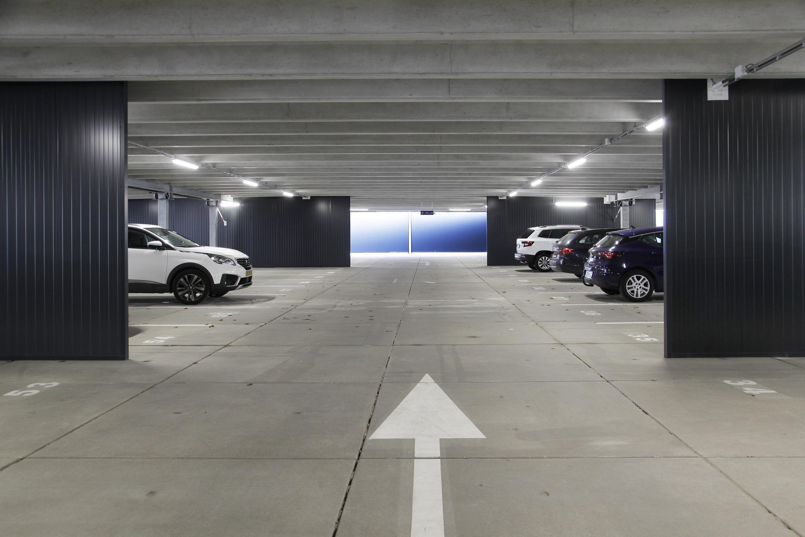 Parkeergarage Rotterdam Alexander