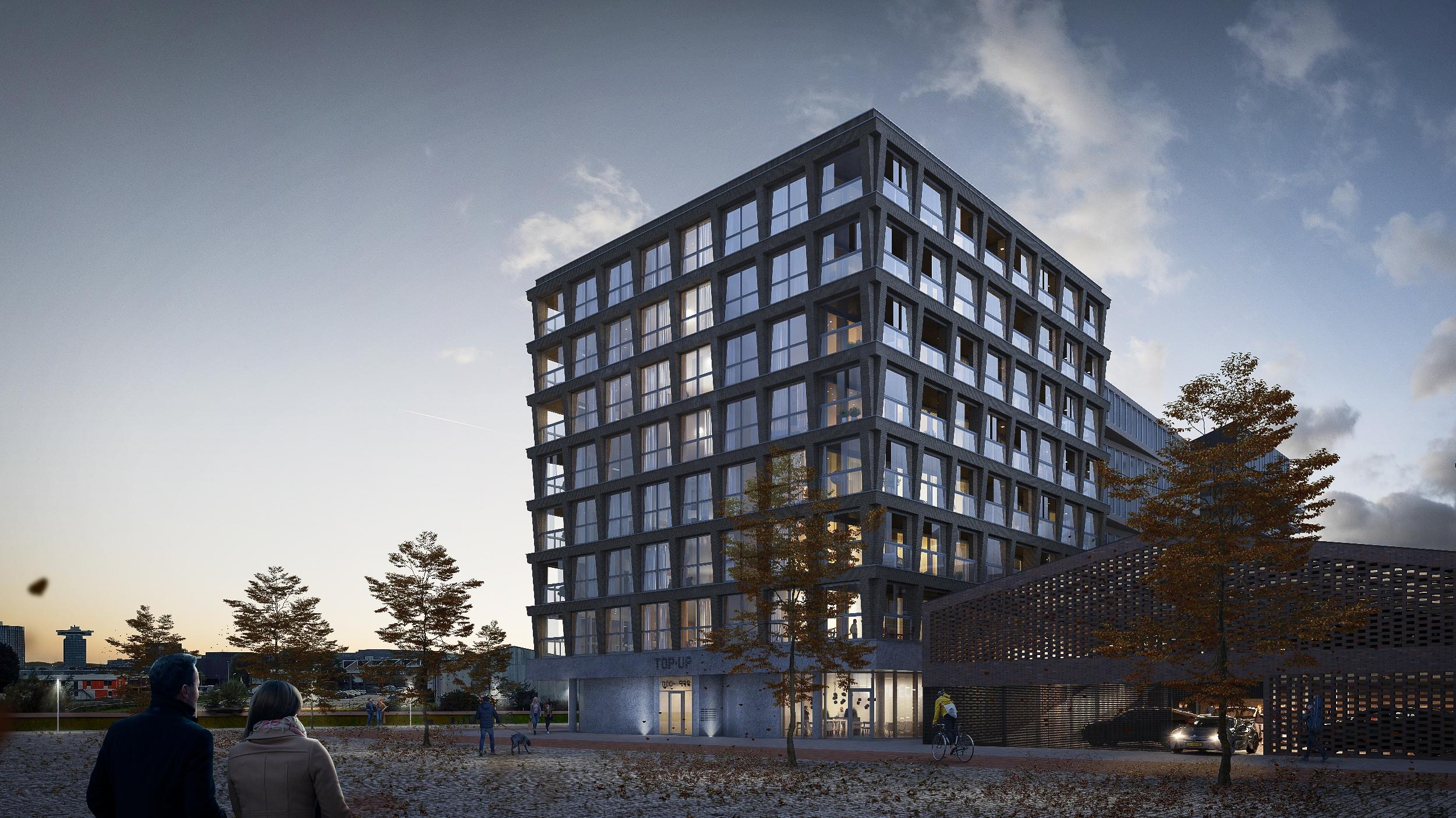 Bouw parkeergarage Top-Up Amsterdam gestart