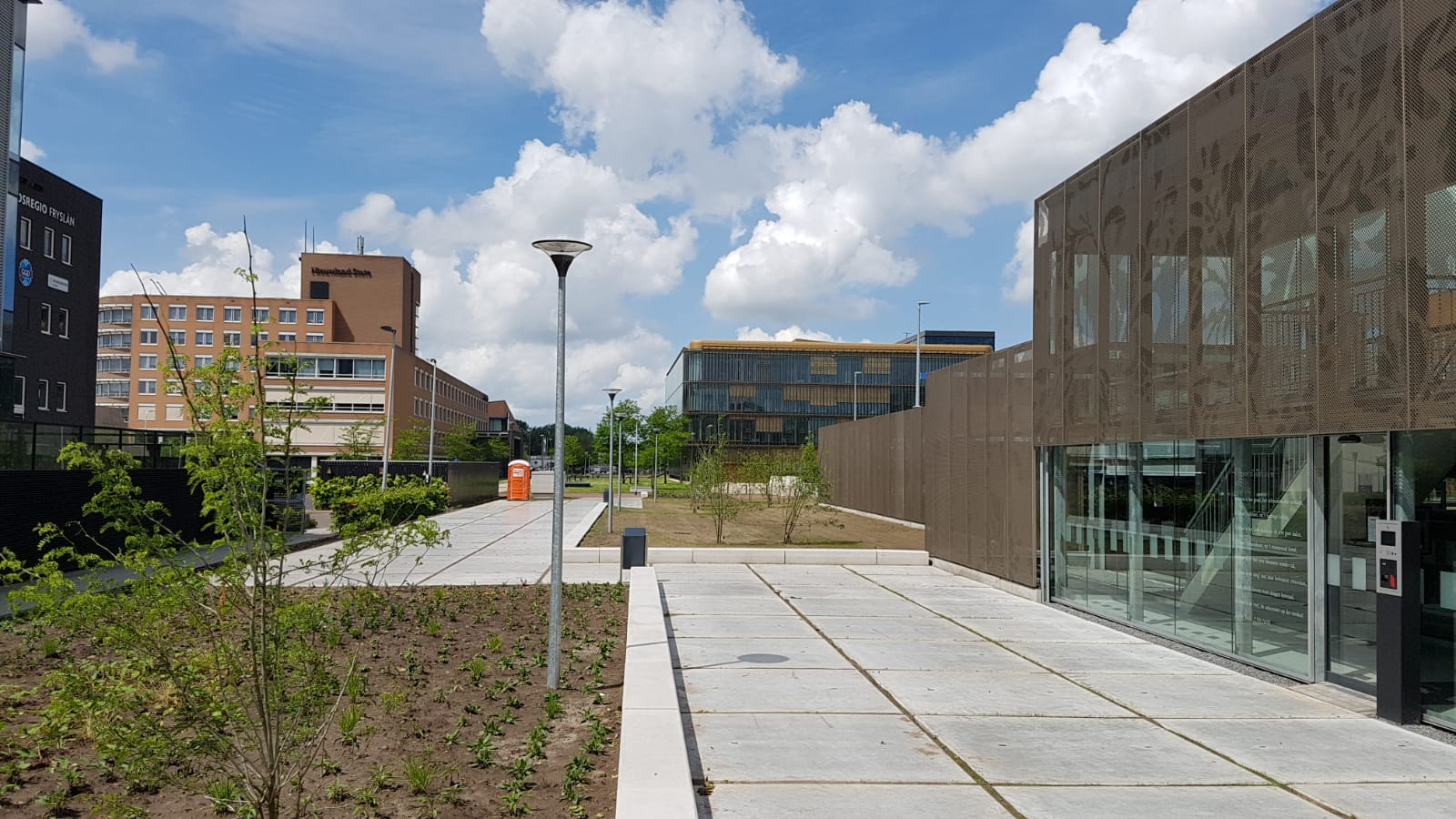 Parkeergarage De Revius Leeuwarden feestelijk geopend
