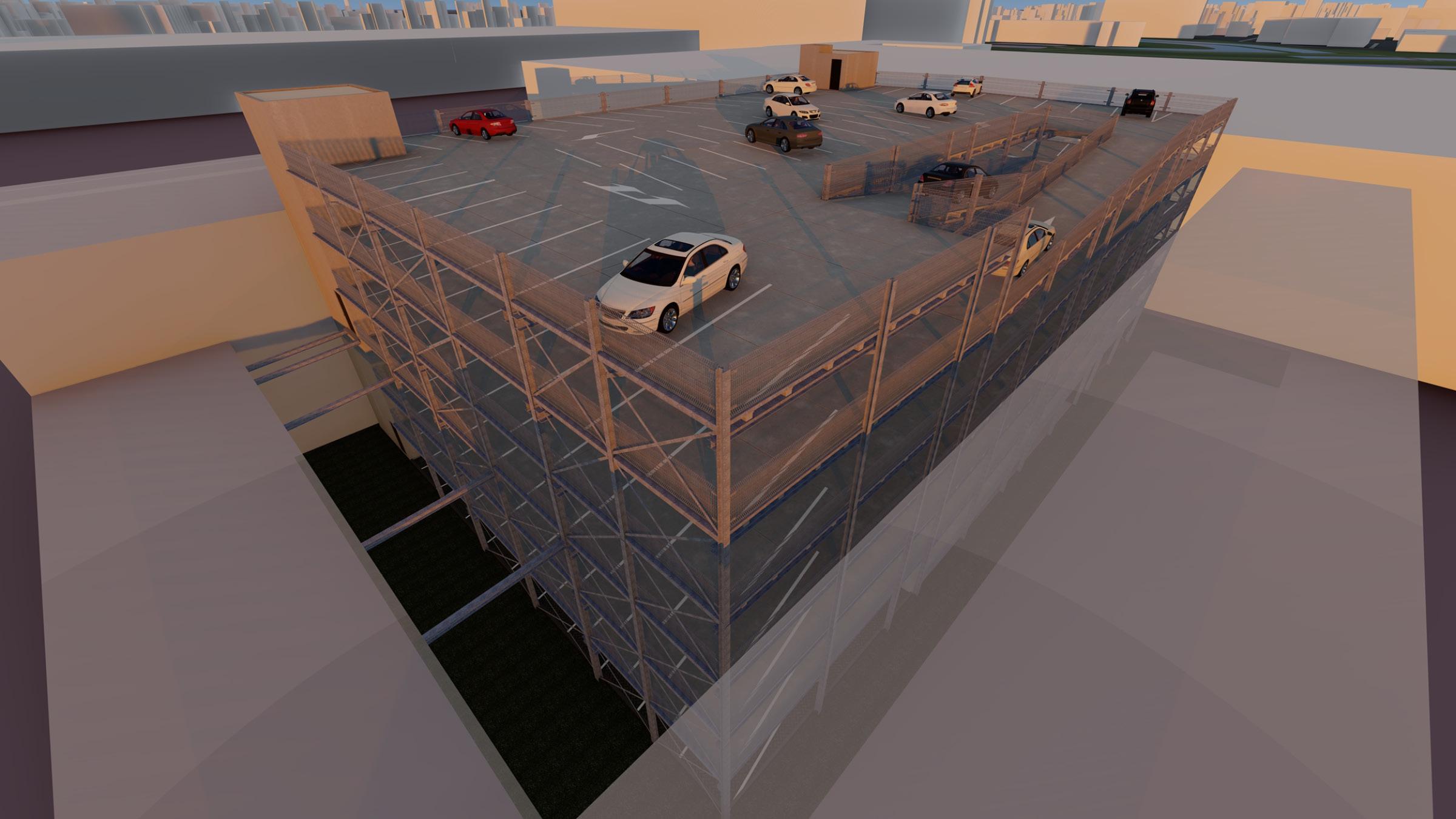 Continental Car Parks en WDP Nederland realiseren parkeergarage Schiphol Logistics Park