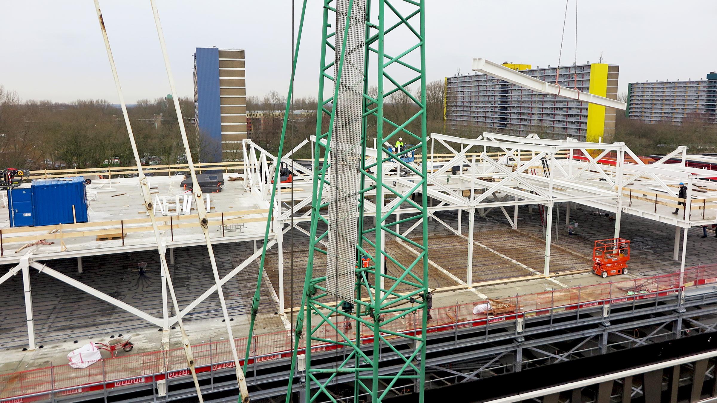 Realisatie OK-complex Reinier de Graaf Ziekenhuis in volle gang