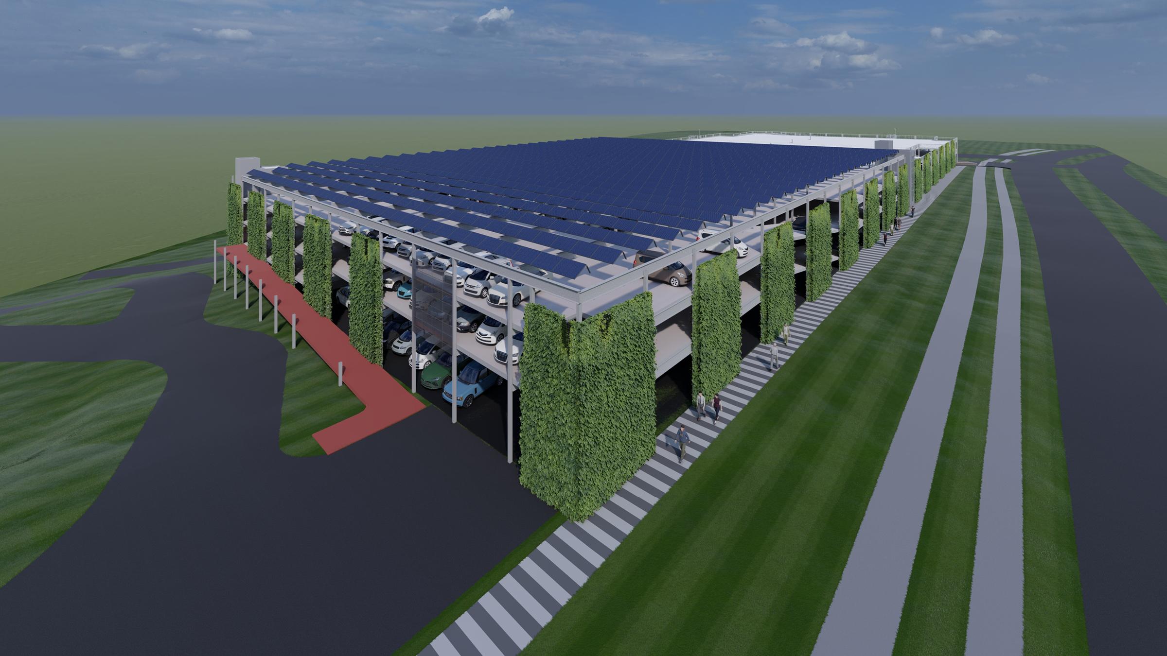 Contract voor uitbreiding en verduurzaming parkeergarage UZ Brussel