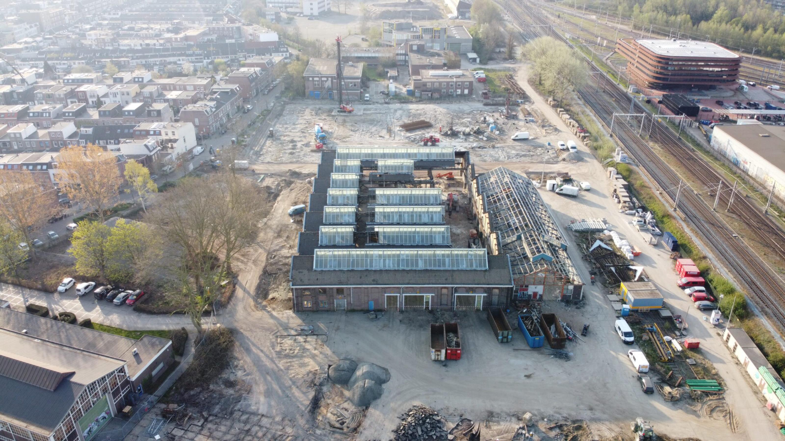 Start bouw parkeergarage Wisselspoor Utrecht