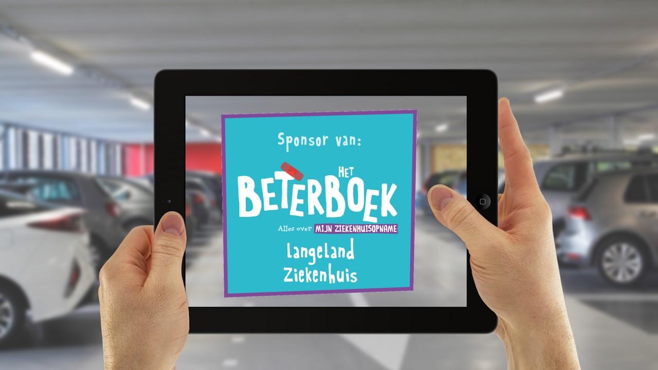 Sponsoring Beterboek Langeland Ziekenhuis