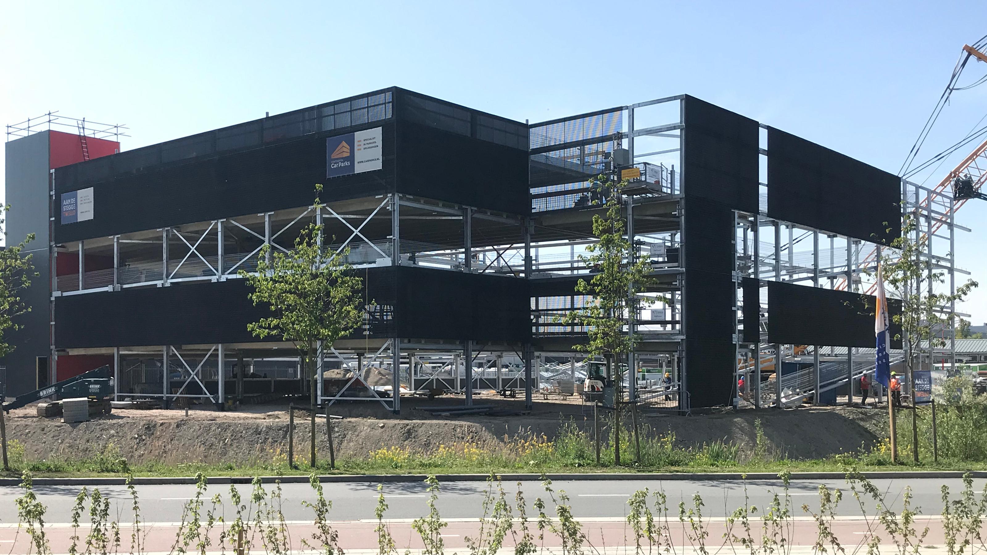 Parkeergarage SEGRO Hoofddorp gaat de hoogte in