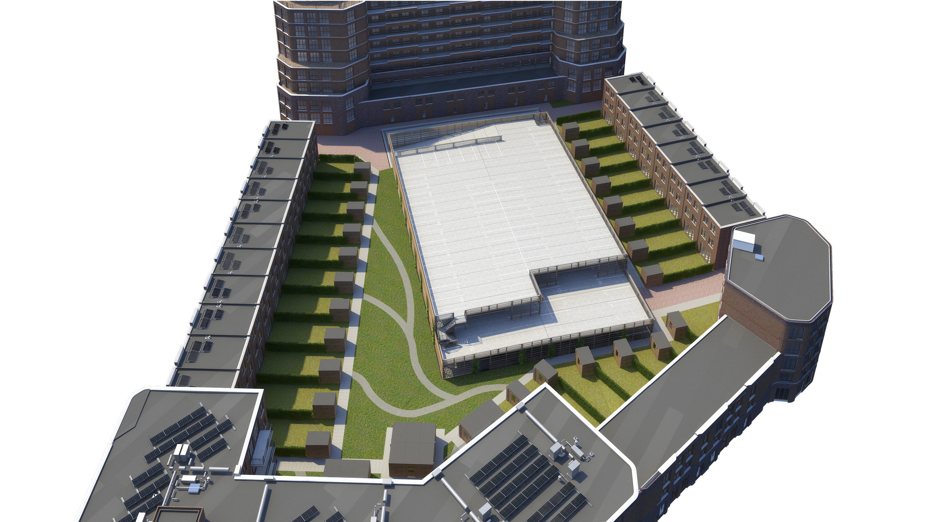 Continental Car Parks realiseert parkeergarage Bataviahaven Lelystad