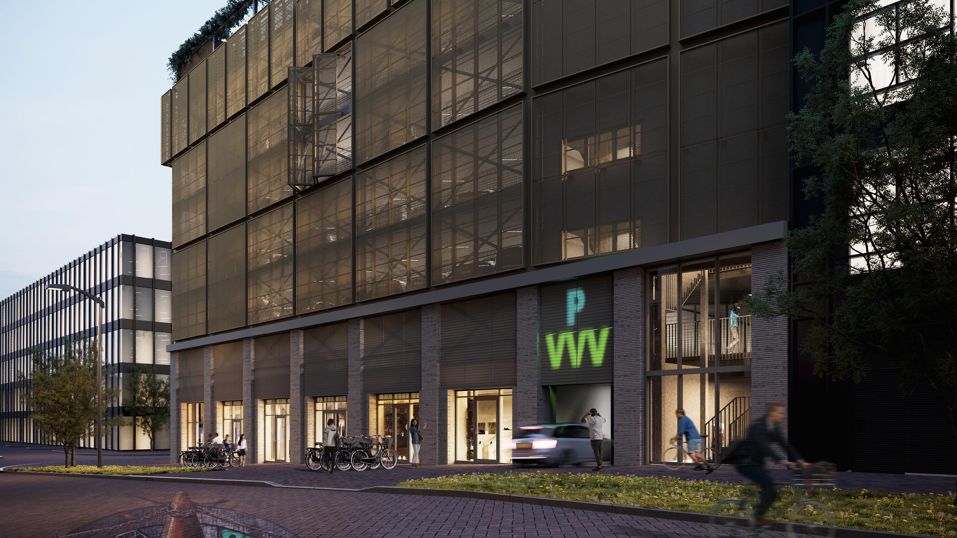 Continental Car Parks ontwikkelt parkeergarage BinnenDok Amsterdam