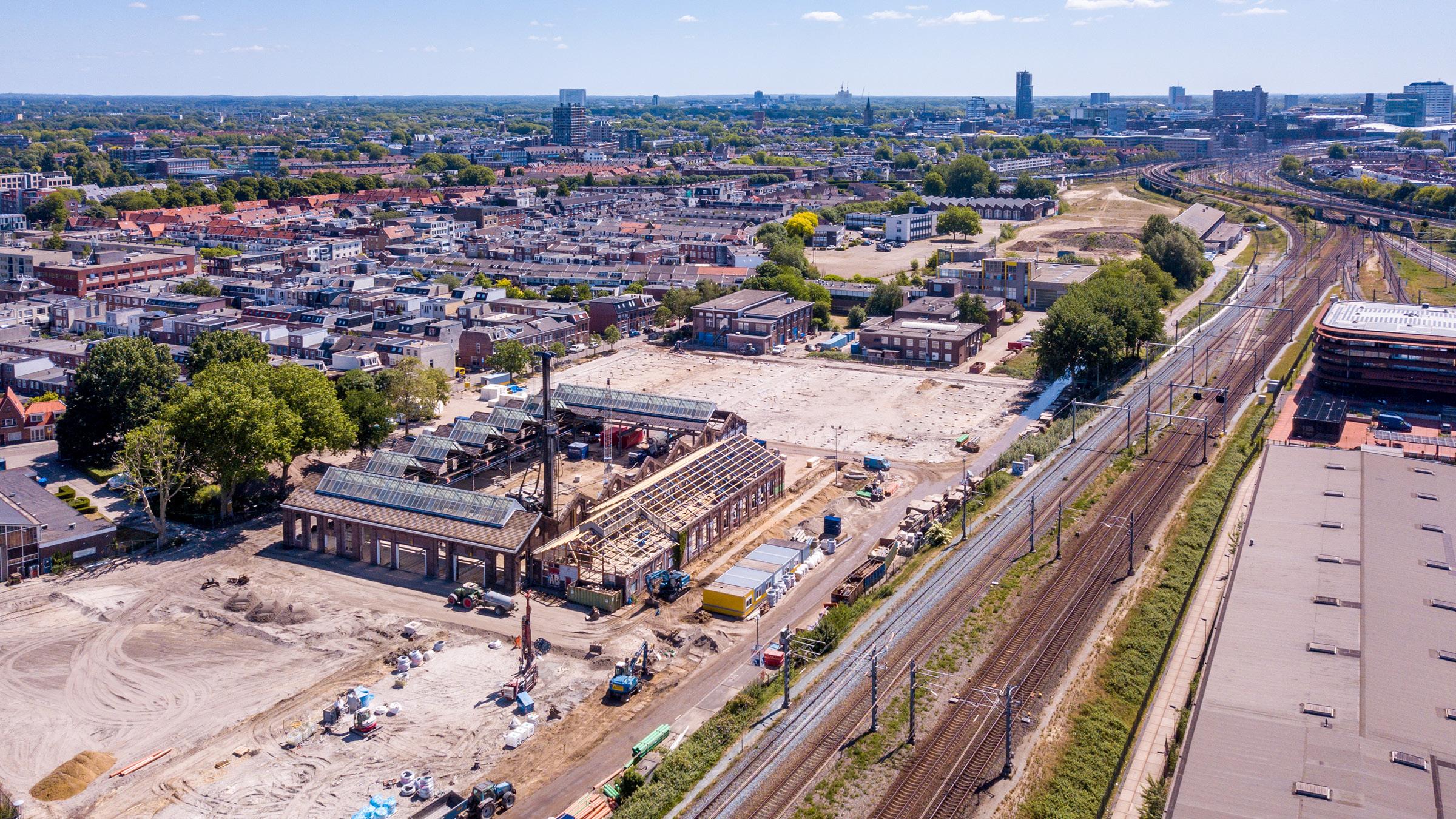 Heiwerkzaamheden afgerond parkeergarage Wisselspoor Utrecht