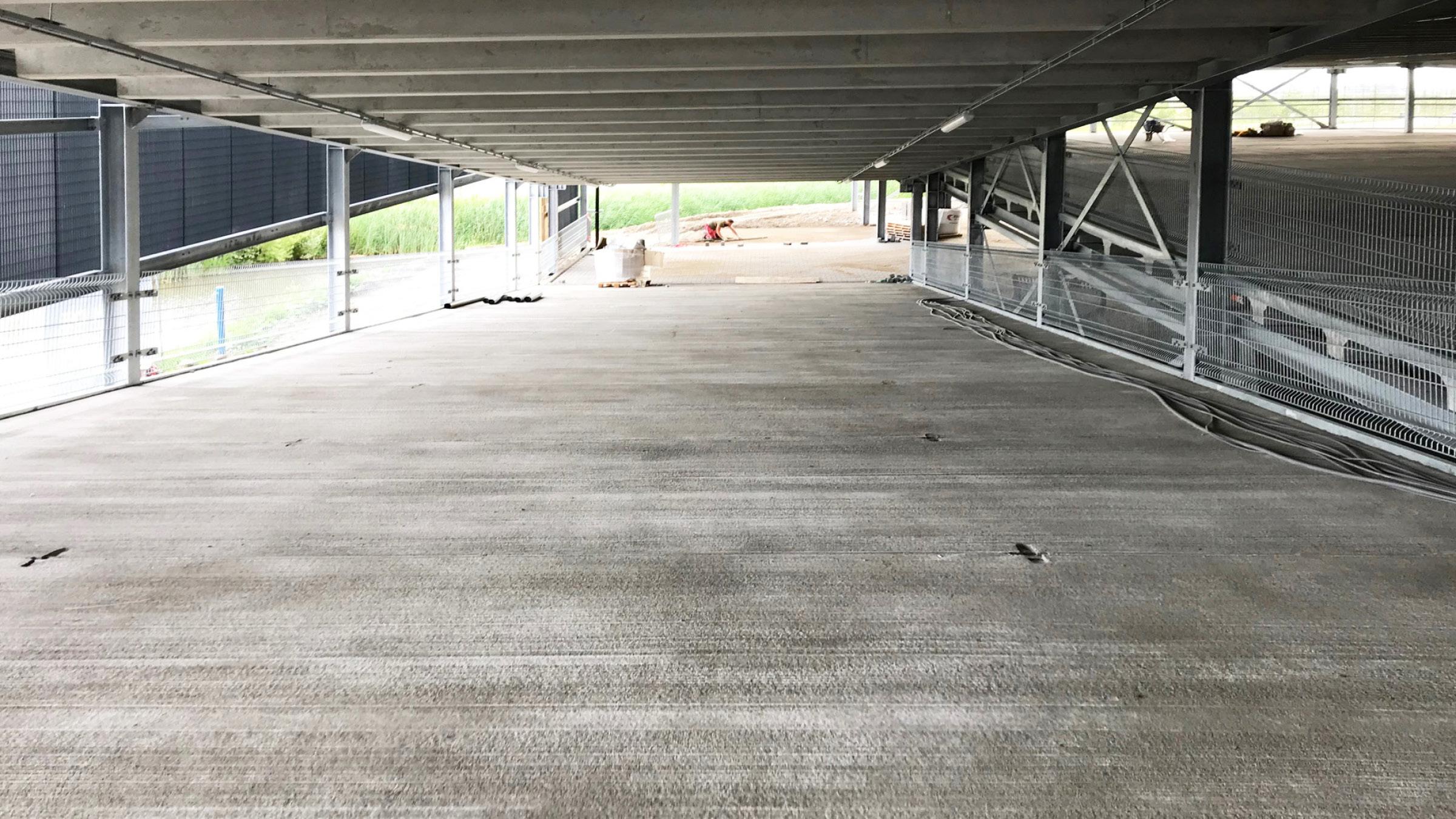 Afbouw gestart voor nieuwe parkeergarage SEGRO Hoofddorp