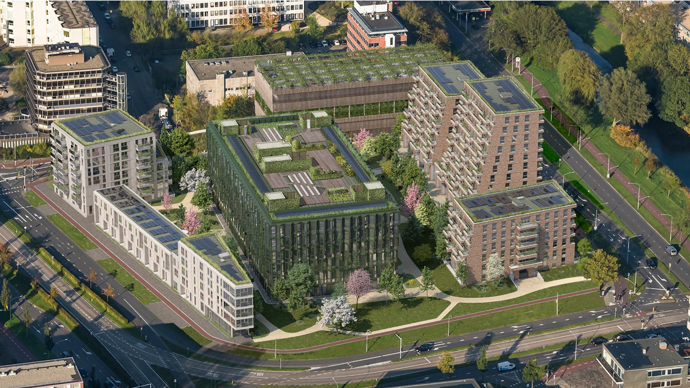Continental Car Parks realiseert Mobility Hub Fluorterrein Haarlem