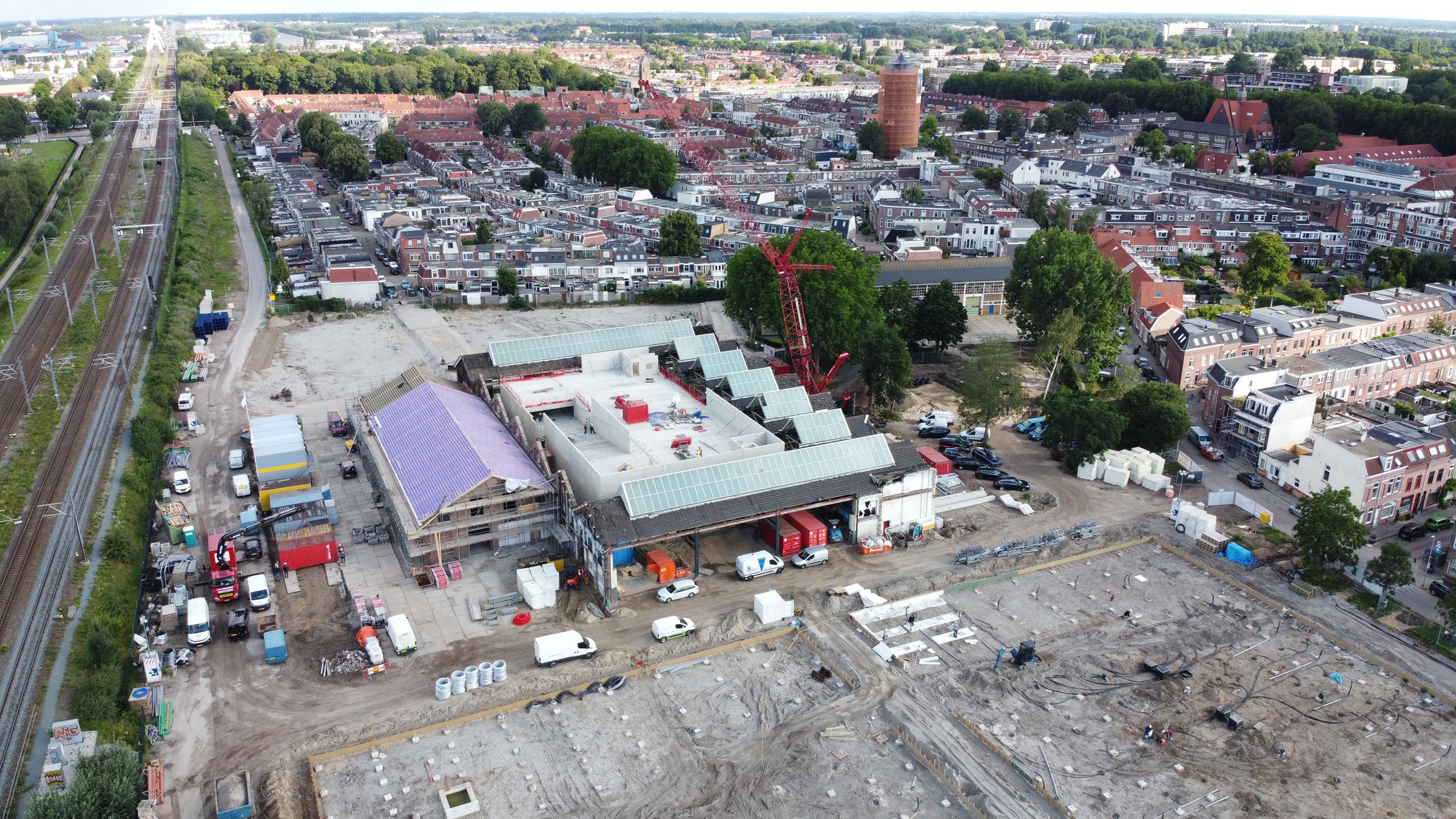 Parkeergarage Wisselspoor Utrecht krijgt vorm