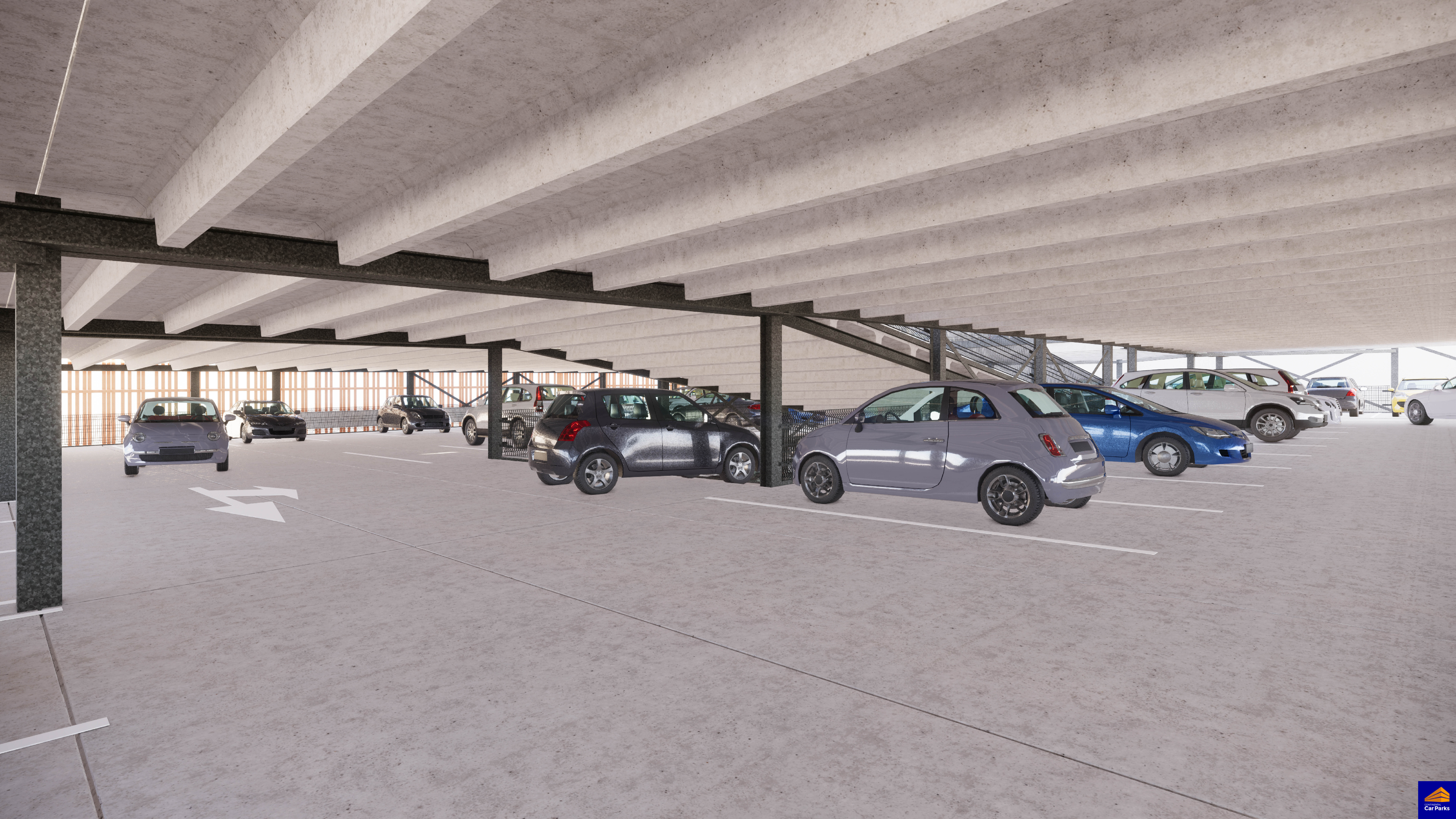 Contract voor tijdelijke parkeergarage Arsenaal Venlo