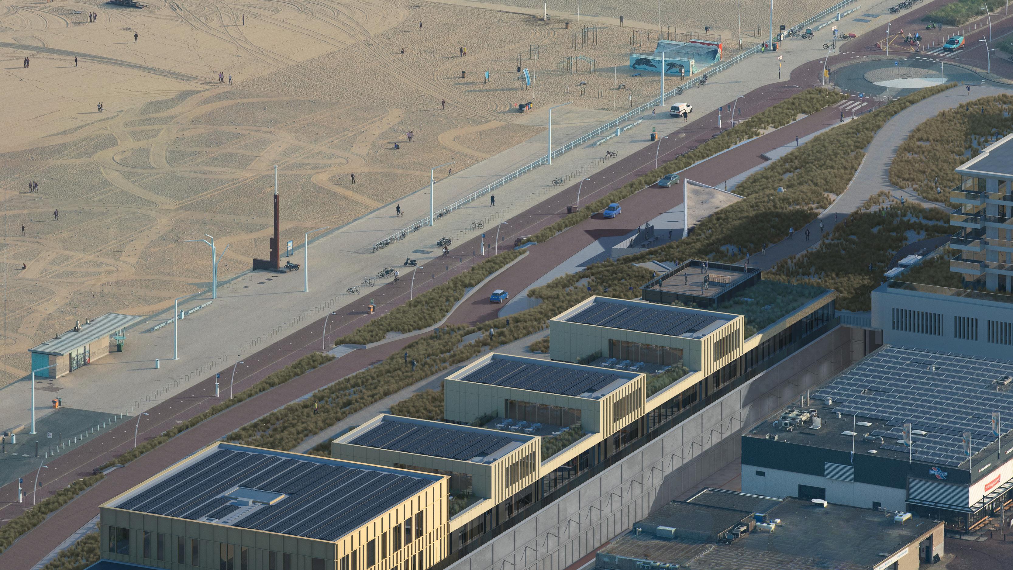 Continental Car Parks realiseert parkeergarage Noordelijk Havenhoofd Scheveningen