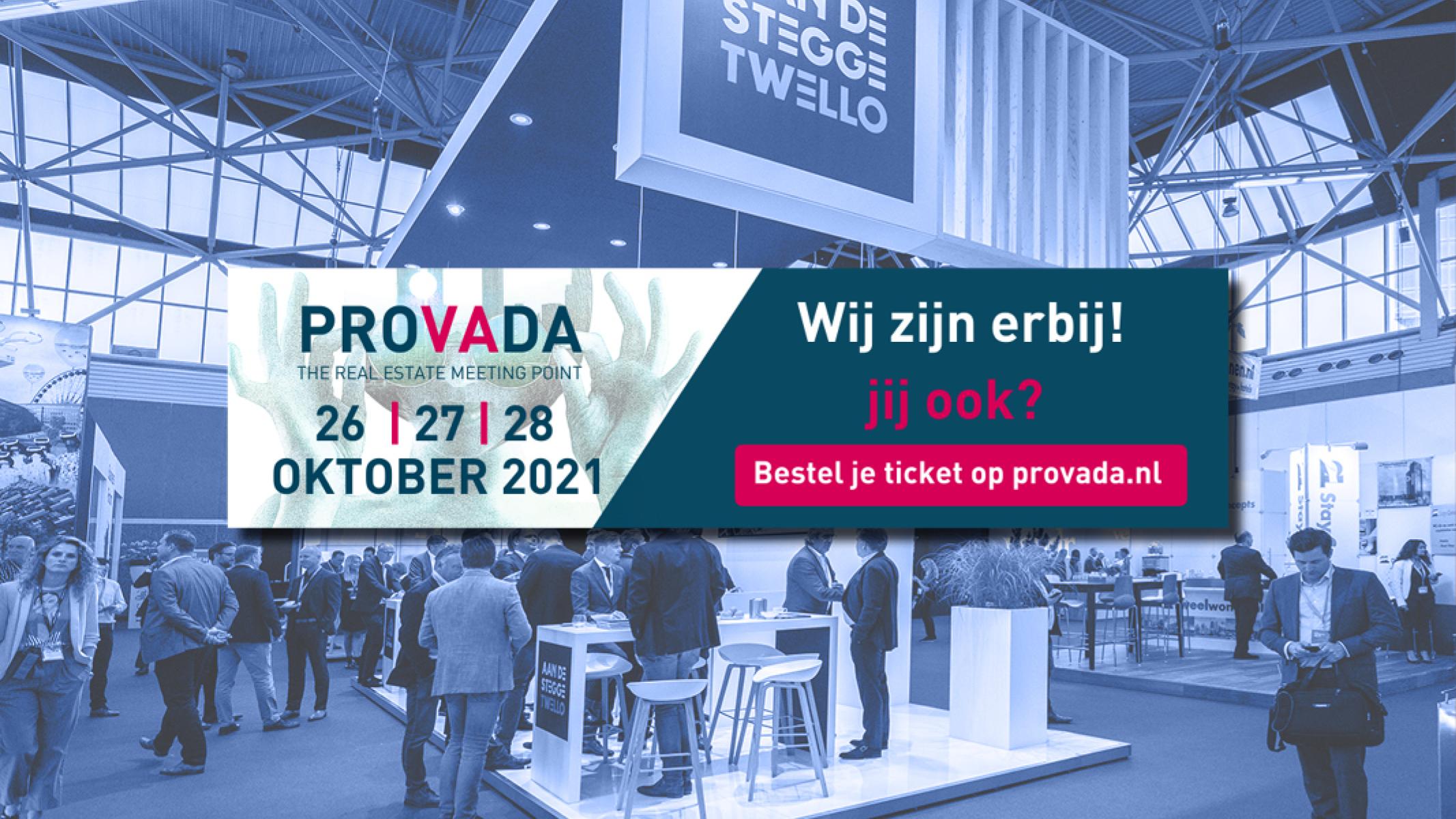 Bezoek ons op Provada!