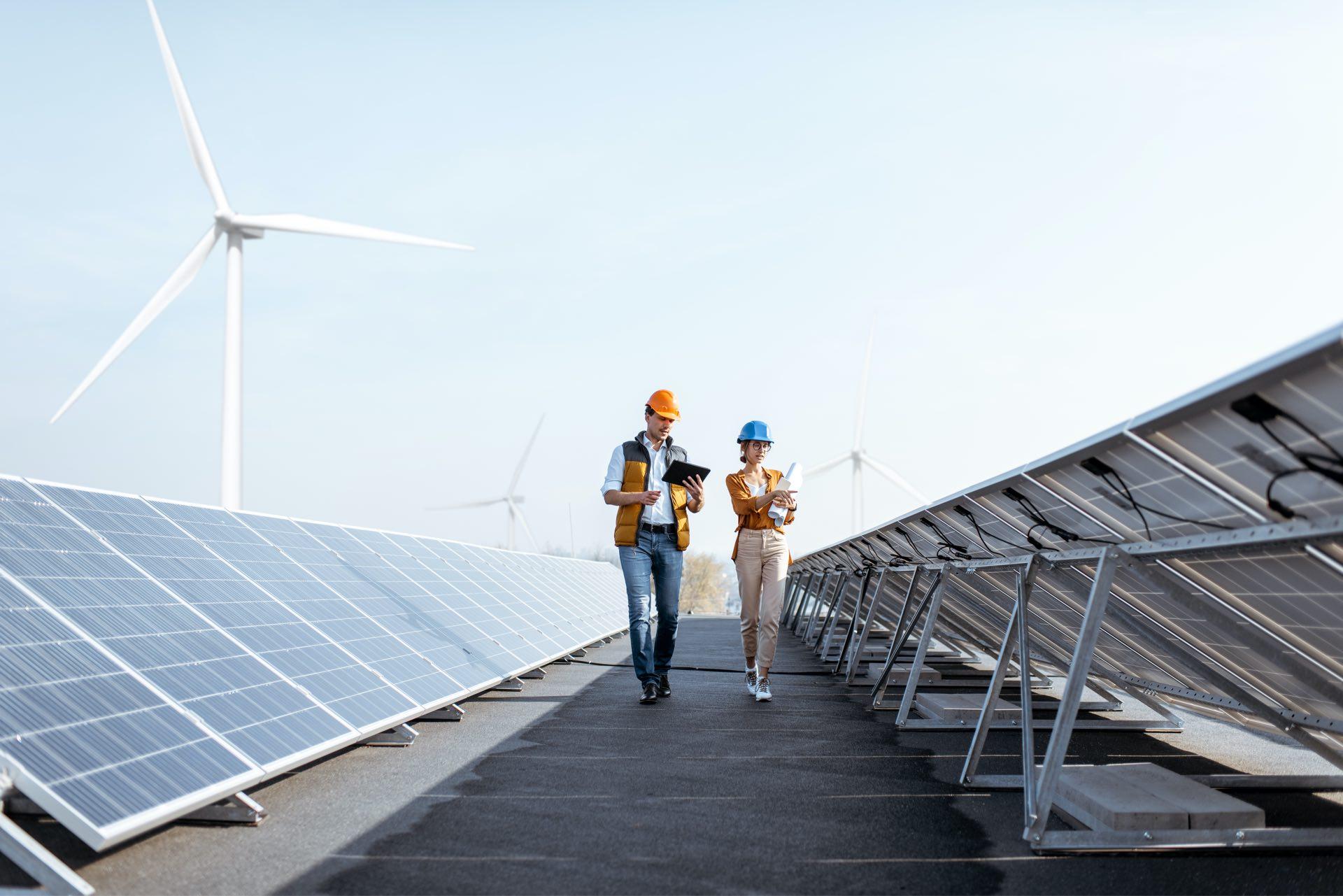 Maschinenbau und Alternative Energien