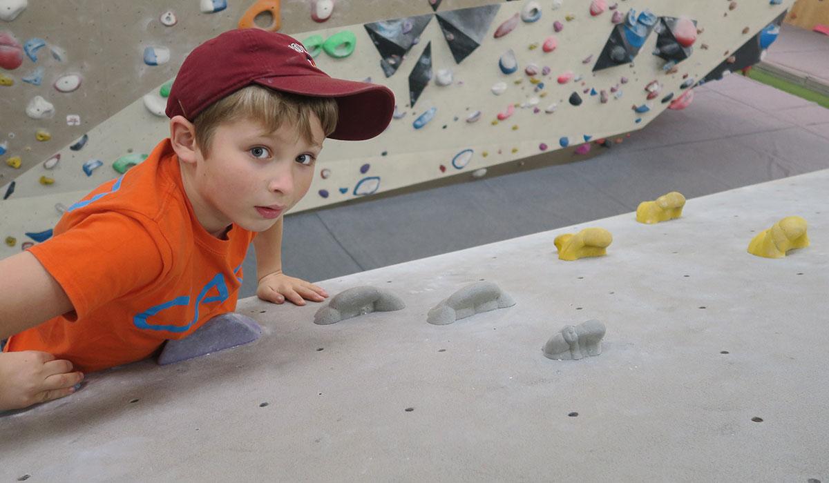 Kid Climbing Tunbridge Wells
