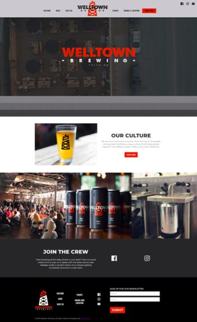 Welltown Brewing Homepage