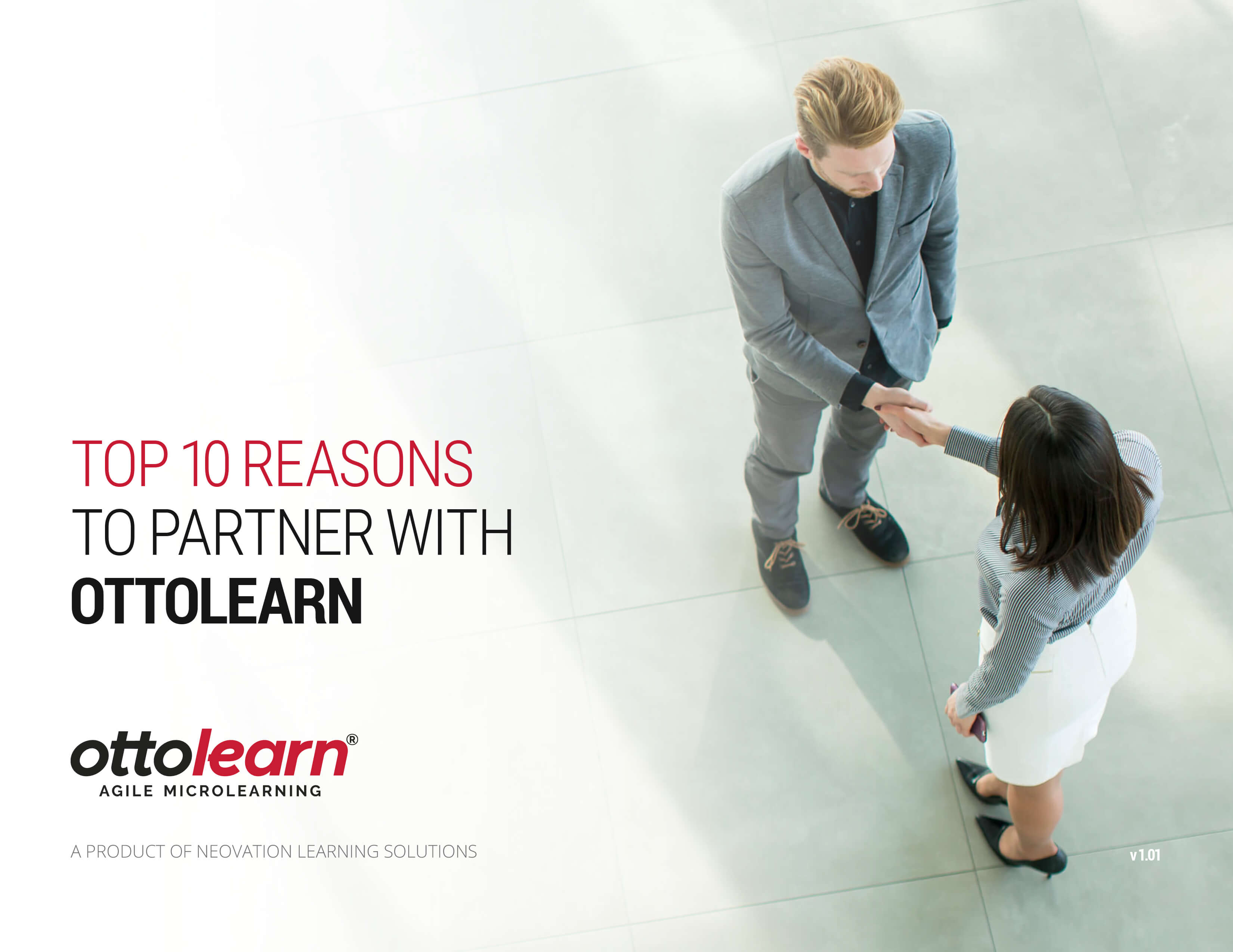 Cover of the Top 10 Reasons to Partner with OttoLearn PDF - OttoLearn Personalized Learning