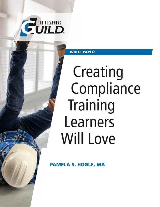 Creating Compliance Training Learners Will Love - Cover - OttoLearn Microlearning