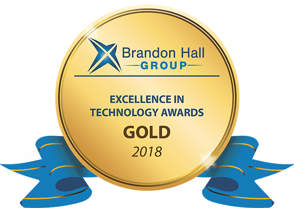 Image of the Brandon Hall Gold Medal - OttoLearn Microlearning