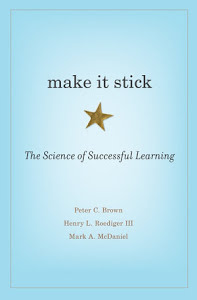 Make It Stick book cover - OttoLearn Agile Microlearning