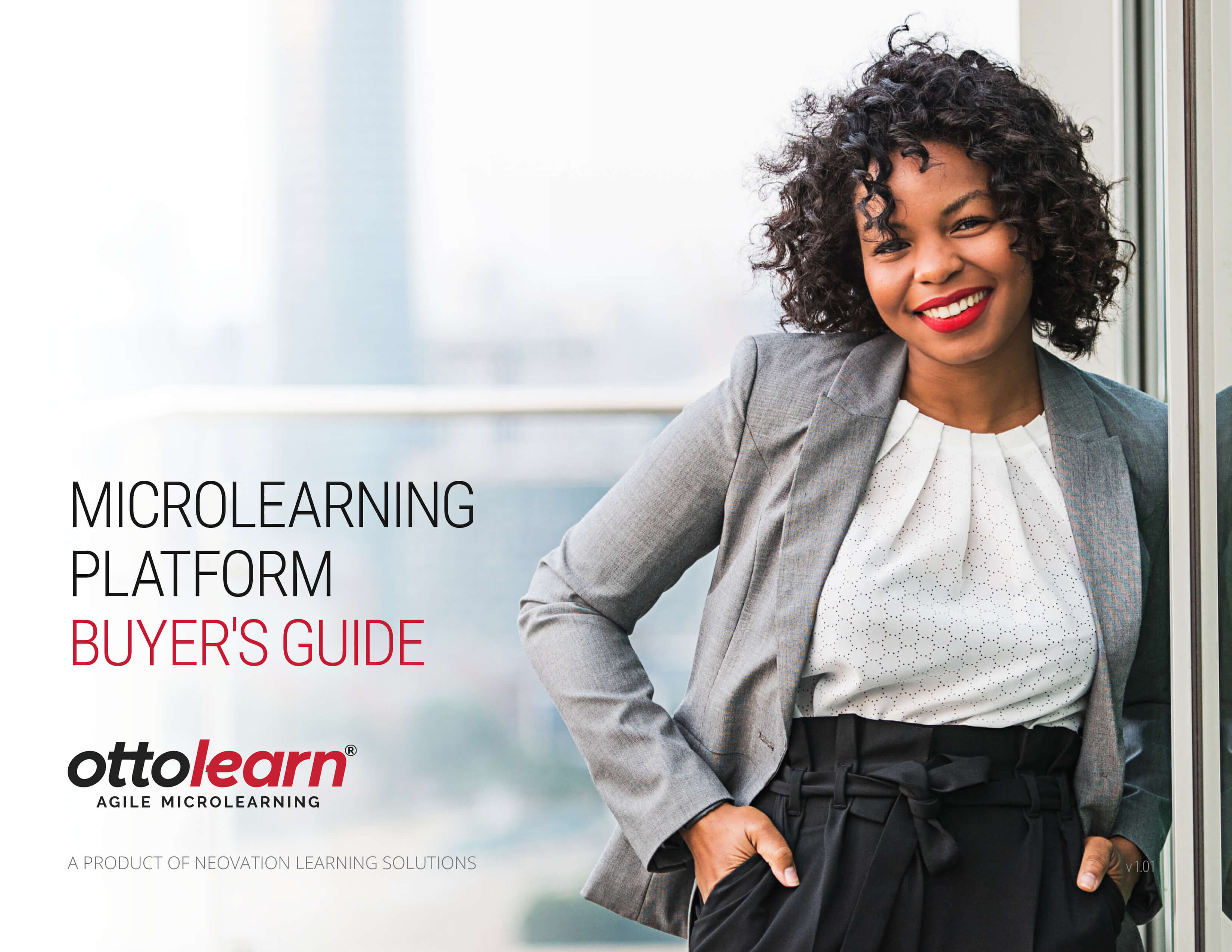 Microlearning Platform Buyer's Guide PDF cover
