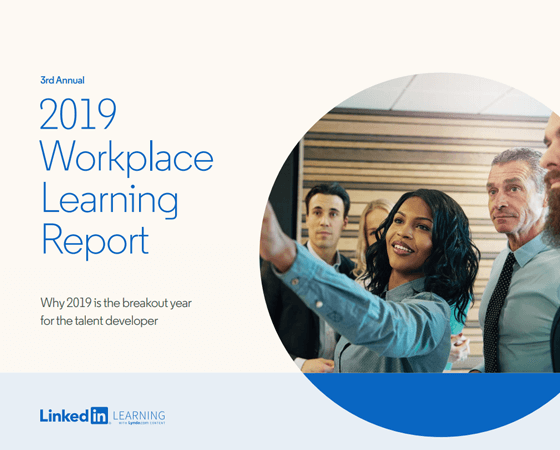 Cover of the Workplace Learning Report