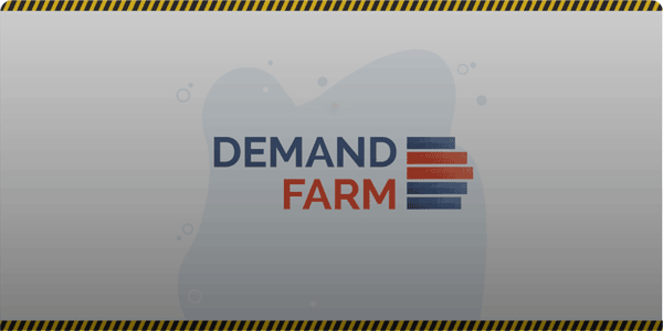 Inbound marketing DemandFarm case study graphic