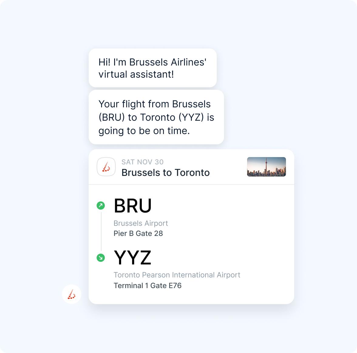 Chatbot-Providing-Flight-Information