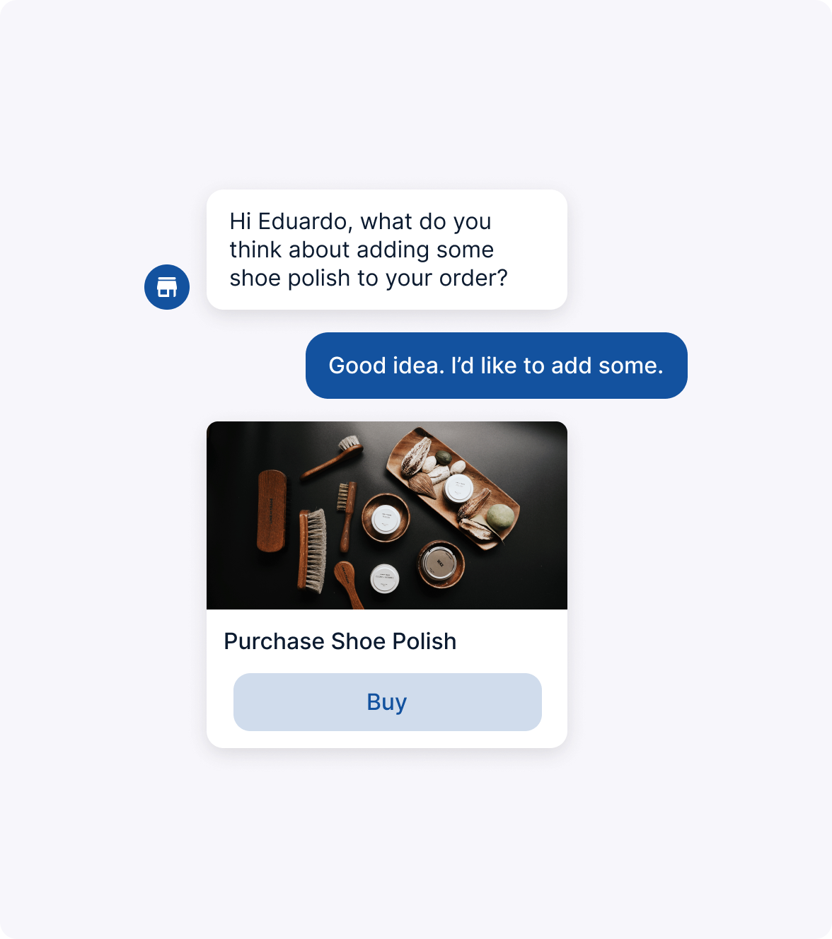 Chatbot Suggesting Related Product to Customer