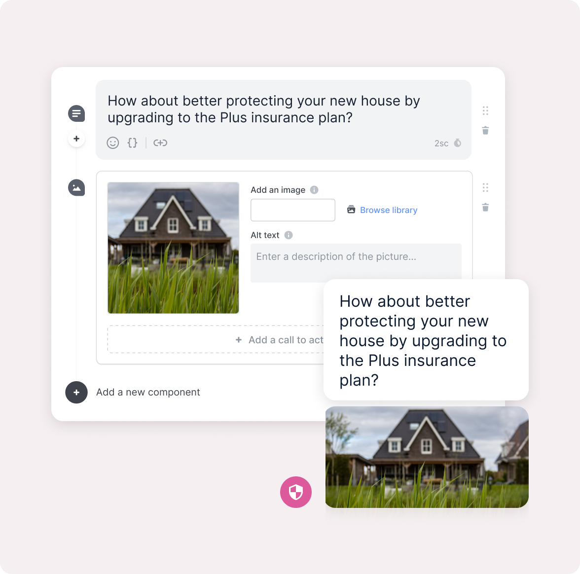 Editing an Answer Recommending House Insurance
