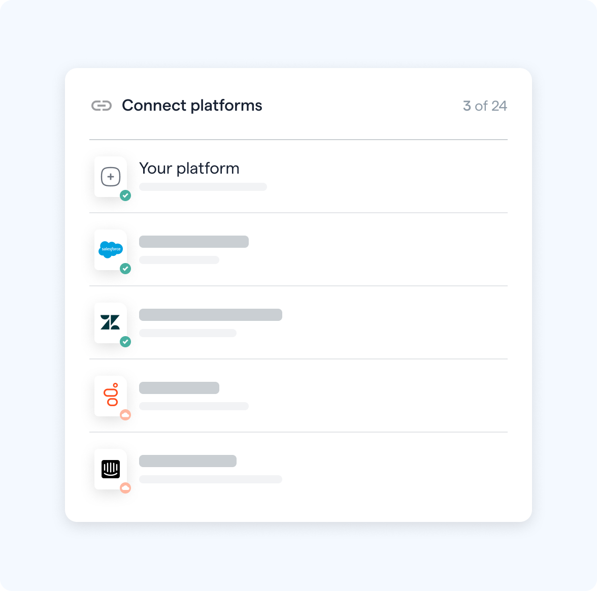 Connecting Business Tools to Mindsay