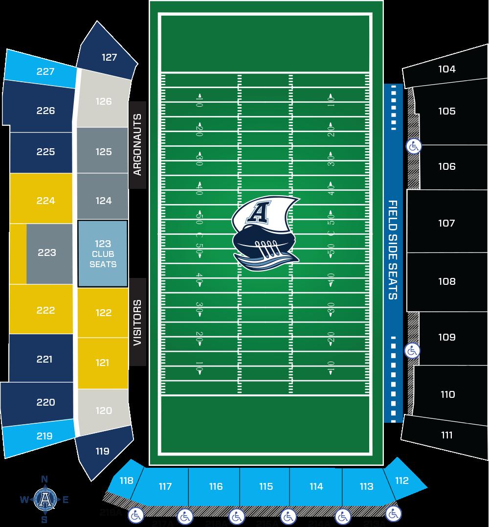 Argonauts Seating Chart