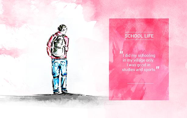 Sumender Kundu's School life