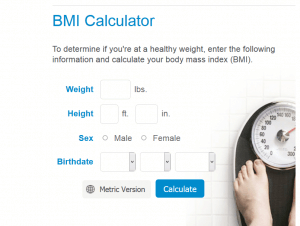 BMI Calculator by Mayo Clinic