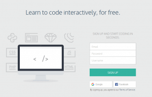 Codecademy Interactive
