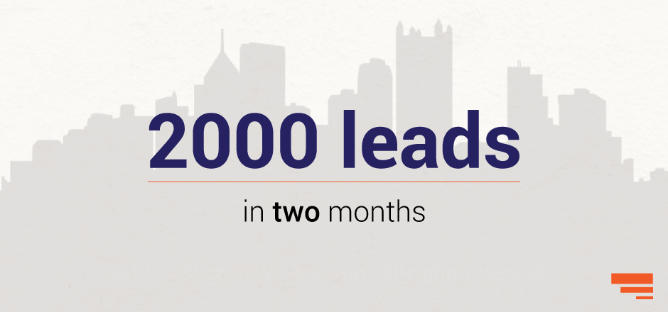 2000+ leads in 2 months in Indian Real Estate, phew