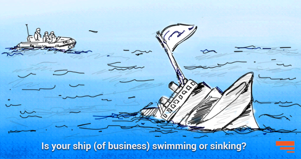 Is your ship (of business) swimming or sinking?