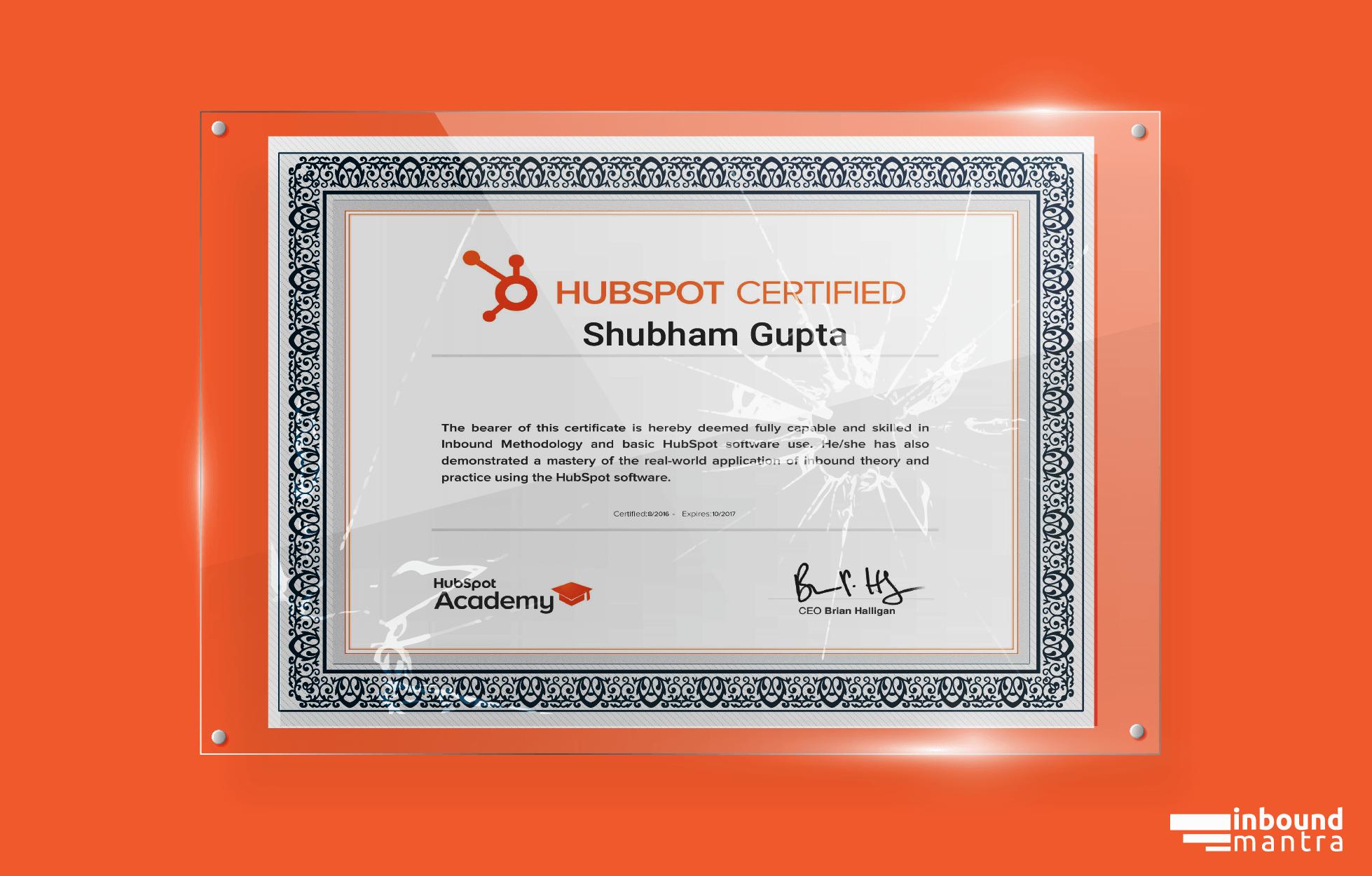 Is HubSpot Certification ideal?