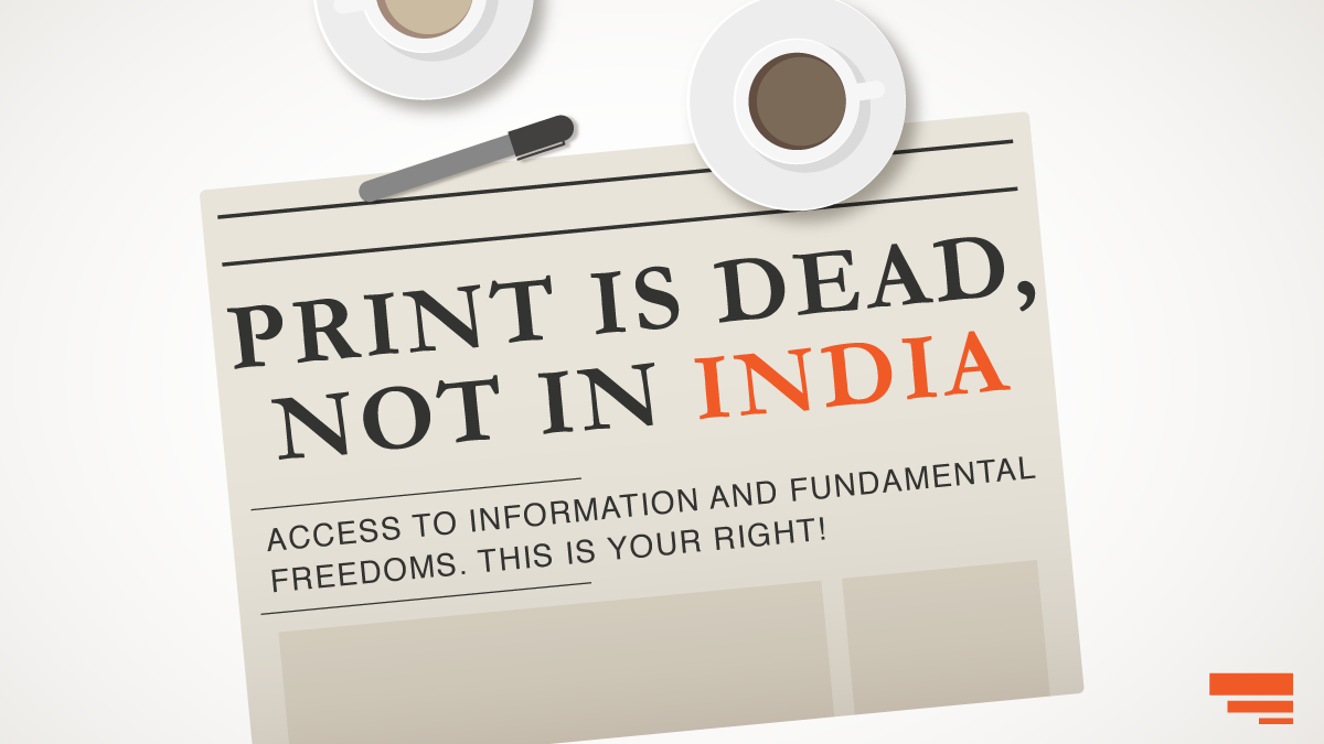 Is Print Media Dying? Not in India!