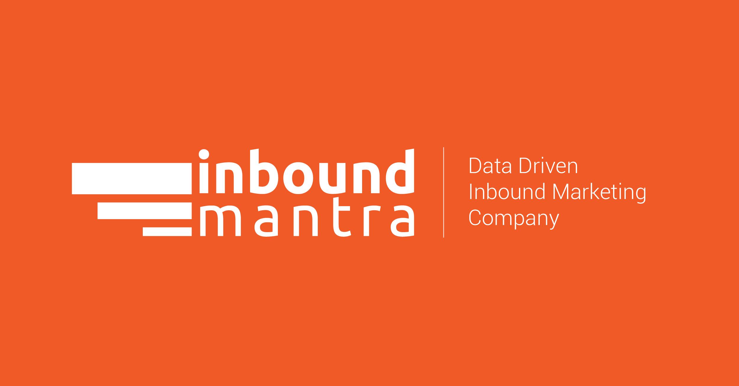 Introducing Inbound Mantra - Not Just a Social Media Marketing Agency