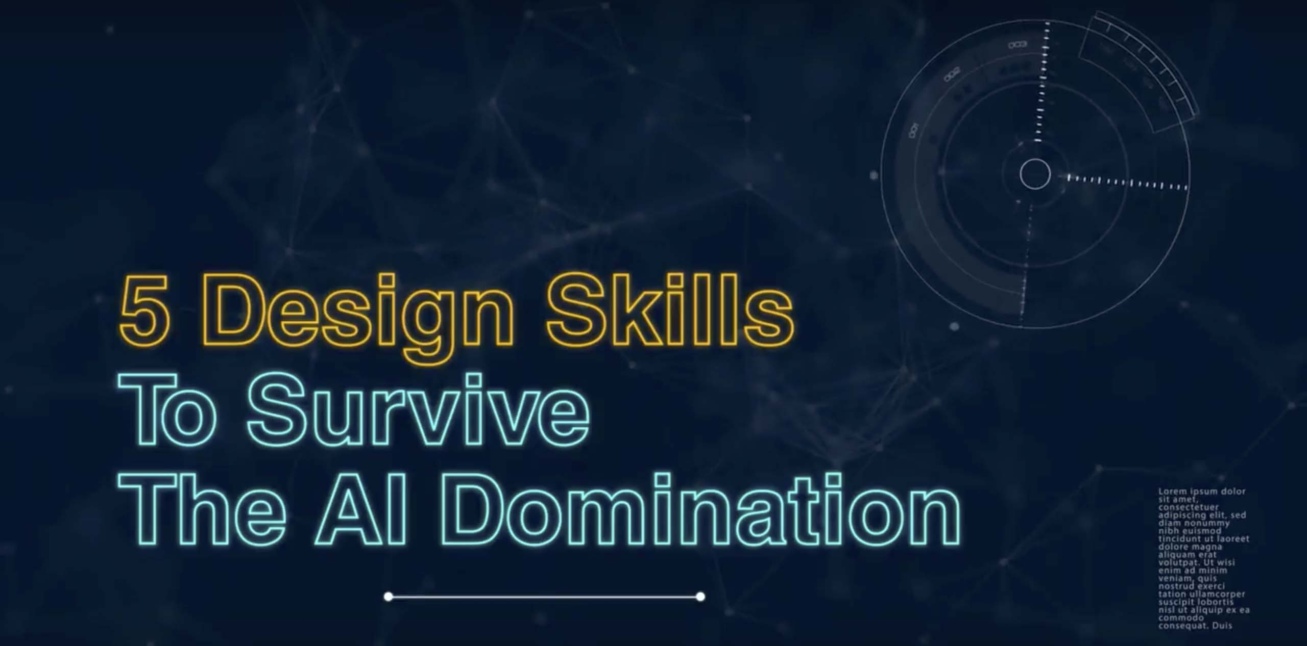 5 Design Skills To Survive The AI Domination