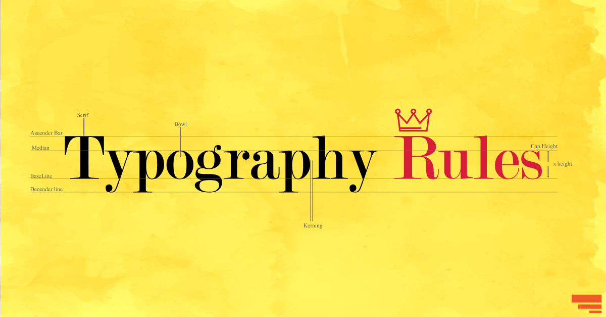 Five Punny Typography Rules
