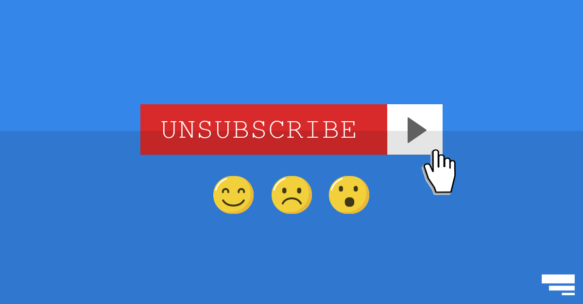 When inbound marketing leads unsubscribe