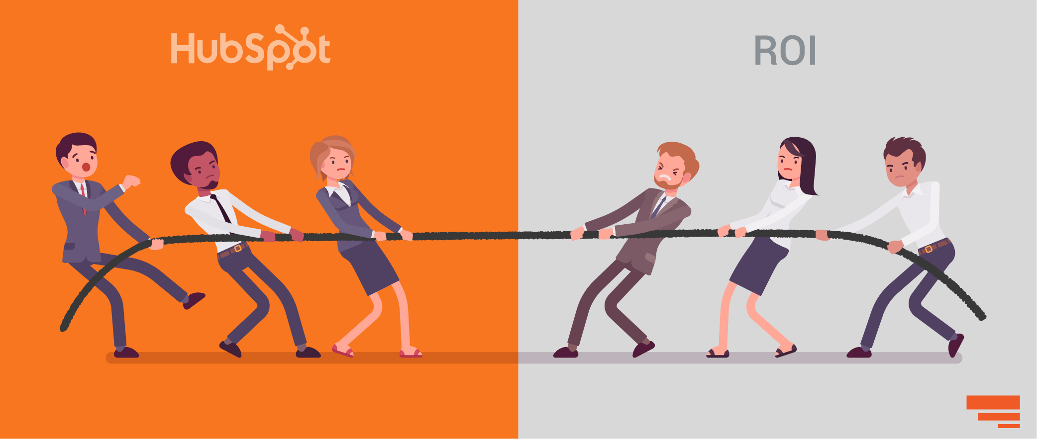 Demonstrate HubSpot pricing ROI