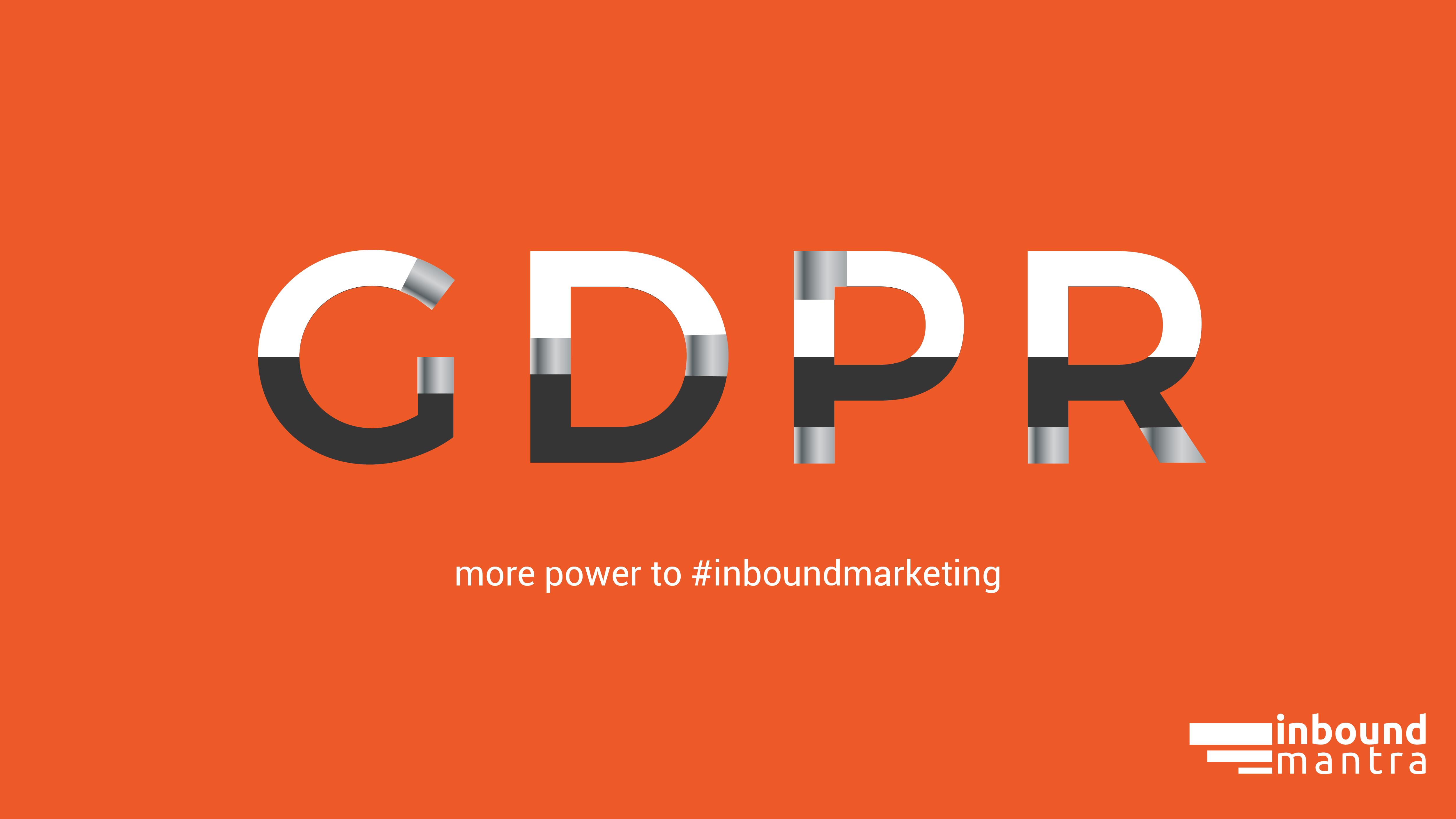 Will GDPR impact inbound marketing?