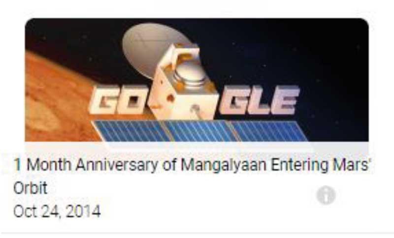 google doodle mangalyaan