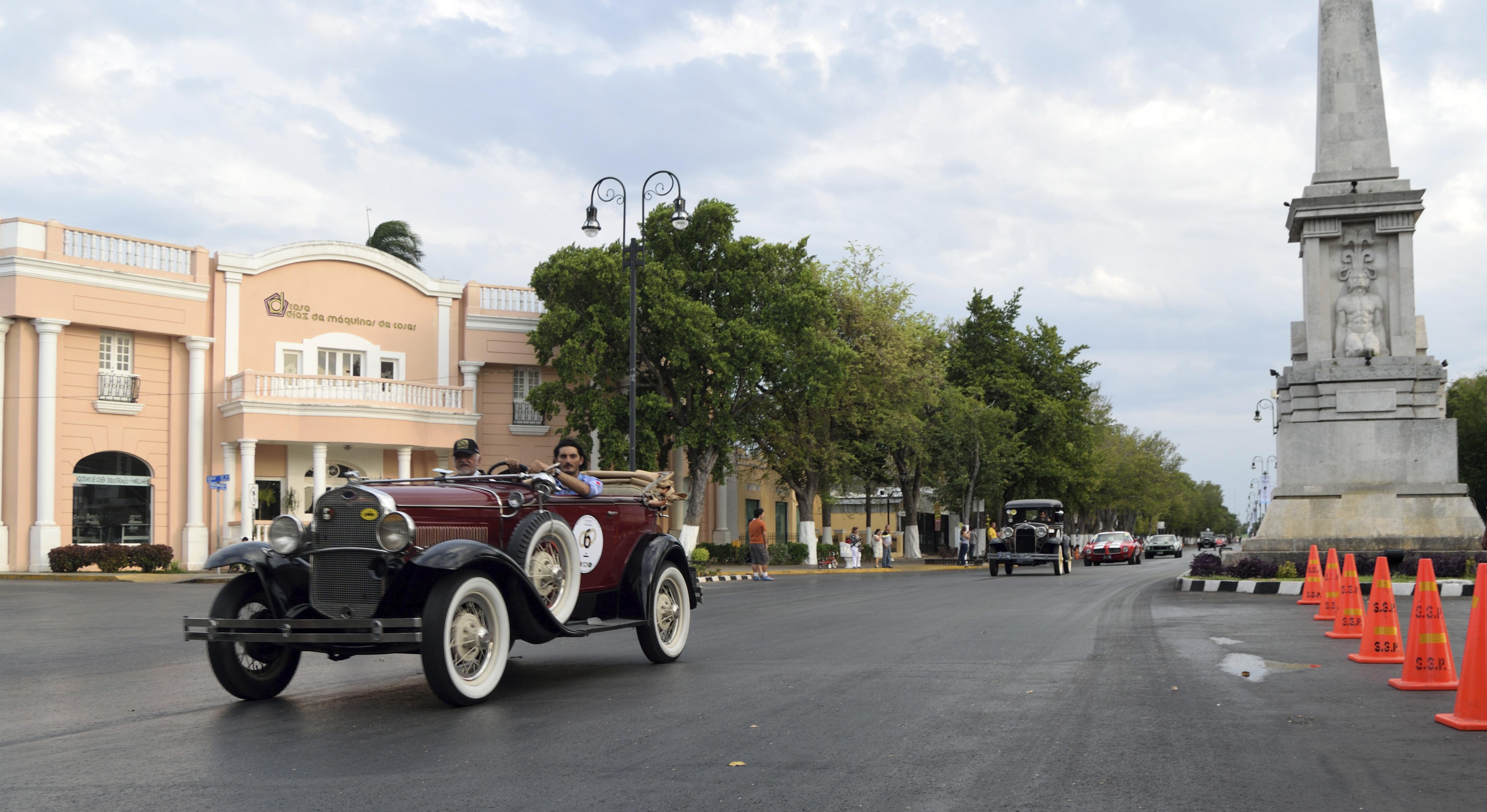 Foto Paseo de Montejo Merida Yucatán